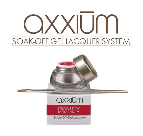 Zarówno lakier Shellac jak i OPI Axxium można aplikować na